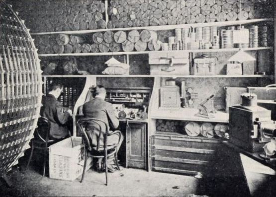 The film testing department at the Charles Urban Trading Company