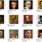 Artists' self-portraits from Your Paintings