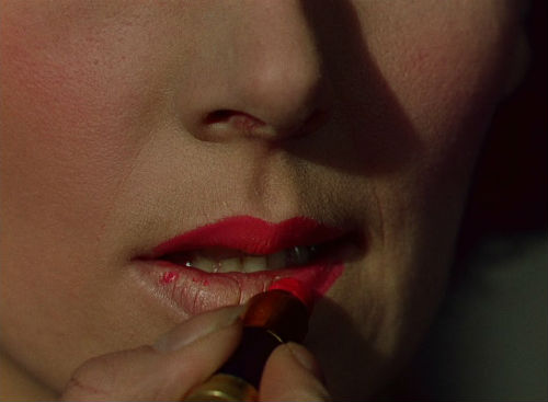 Kathleen Byron applies the red lipstick in Powell and Pressburger's Black Narcissus, from http://thephantomcountry.blogspot.co.uk