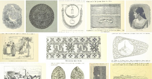 Selection of images from http://www.flickr.com/photos/britishlibrary