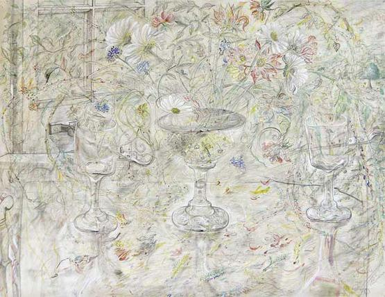David Jones, 'Flora in Calyx-Light', 1950, Kettle's Yard