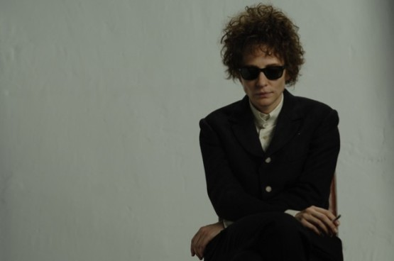 Cate Blanchett as a Bob Dylan in I'm Not There