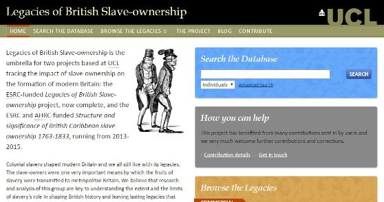 Legacies of British Slave-ownership