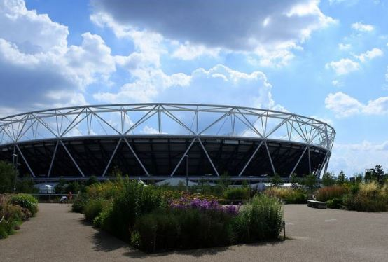 The Olympic Stadium at Stratford