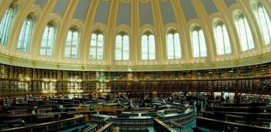 The British Museum reading room