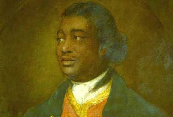 Portrait of Ignatius Sancho (detail) by Thomas Gainsborough (1768), National Gallery of Canada