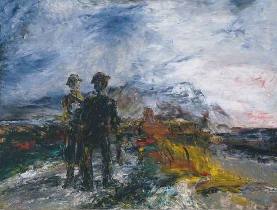 Jack Yeats, 'Two Travellers', 1942, Tate