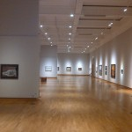 The main gallery at Ulster Museum, showing the William Scott exhibition