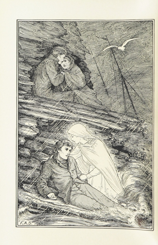 In a Sea Bird's Nest. A series of stories, some allegorical (1896)