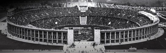 The Olympiastadion in 1936 (from http://www.olympic.org/Berlin-1936-summer-olympics)