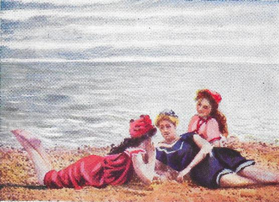 A Visit to the Seaside (1908), one of the very first Kinemacolor films