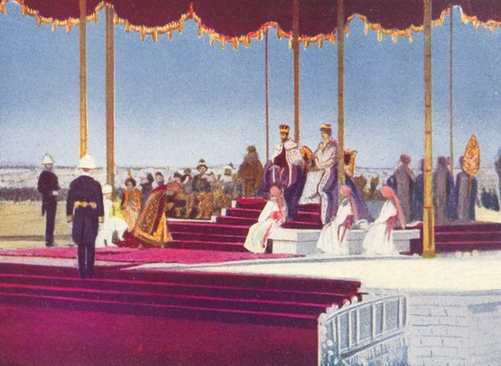 The Coronation Durbar at Delhi (released 1912, but filmed in 1911)