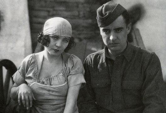 Renée Adorée and John Gilbert