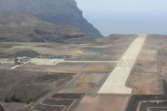 St Helena airport, via http://www.sainthelena.gov.sh