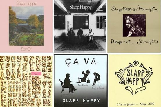 Slapp Happy albums