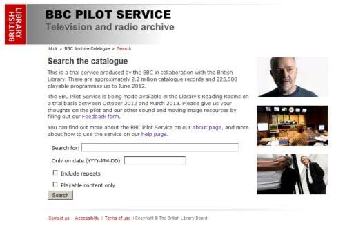BBC Pilot Service