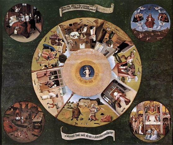 Hieronymus Bosch, 'Seven Deadly Sins', via Wikimedia Commons