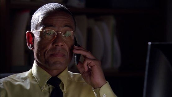 Giancarlo Esposito as the elegant but quite ruthless Gus Fring