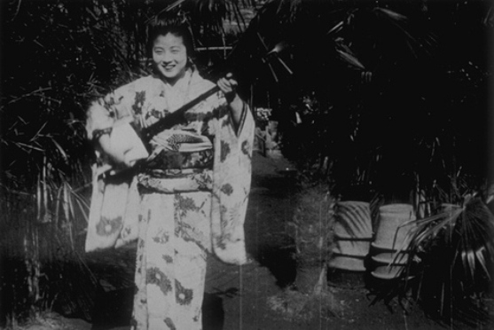 Chanteuse japonaise (1899), cat. no. 1026, filmed by Gabriel Veyre