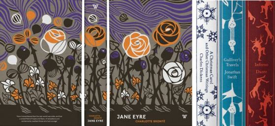 Book designs by David Person (left) and Coralie Bickford-Smith