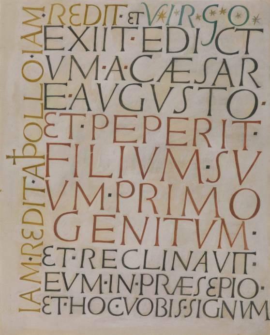 David Jones 'Exiit Edictum' (1949), Tate gallery