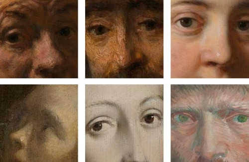 Images from my curated set 'Eyes' courtesy of the Rijksmuseum's Rijksstudio