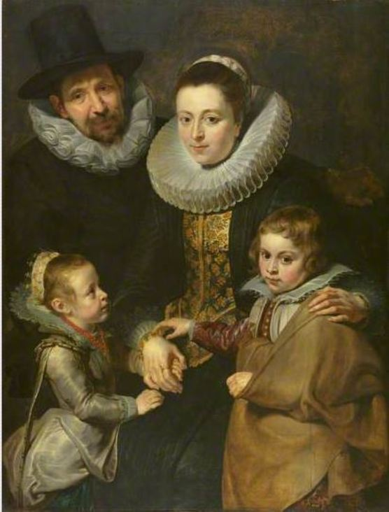 Peter Paul Rubens, 'Family of Jan Brueghel the Elder', 1620, Cortauld