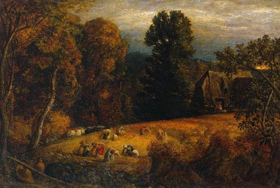 Samuel Palmer, 'The Gleaning Field', c.1833, Tate