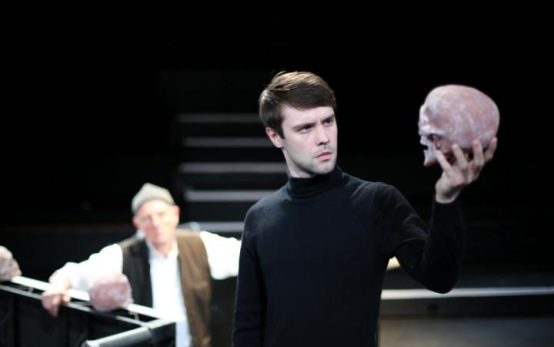 Nicolas Limm as Hamlet, from http://www.telegraph.co.uk