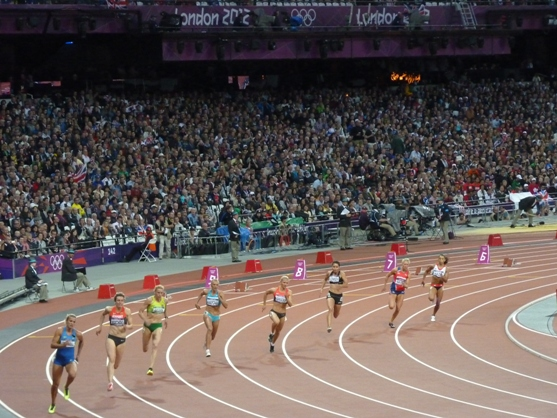 Heptahlon 200m, London 2012