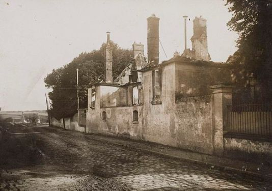 The ruins of Magnard's Baron home, via Wikipedia