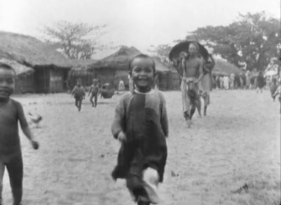 Le Village de Namo (1900), filmed in Indo-China by Gabriel Veyre