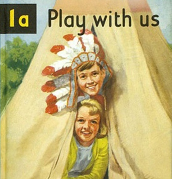 Peter and Jane reading book