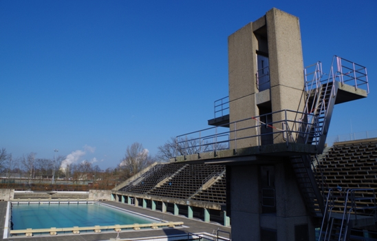 The Olympic pool