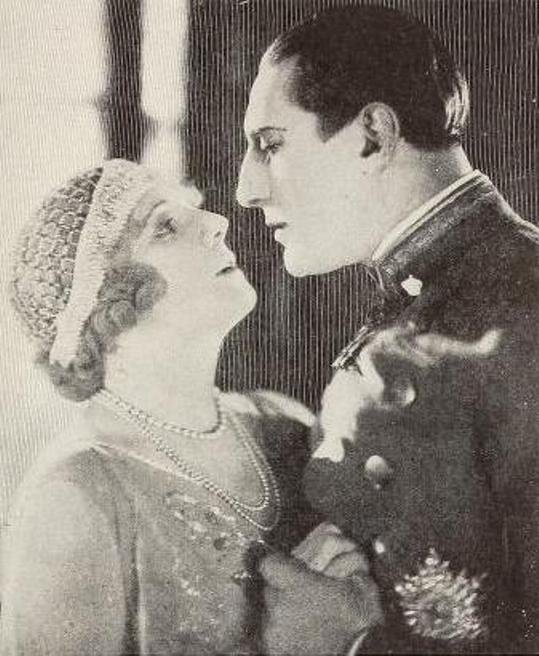 Huguette Duflos and Charles de Rochefort in La Princesse aux clowns, via Media History Digital Library
