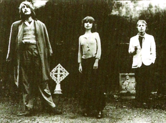 Slapp Happy in the early 1970s (via Wikipedia)