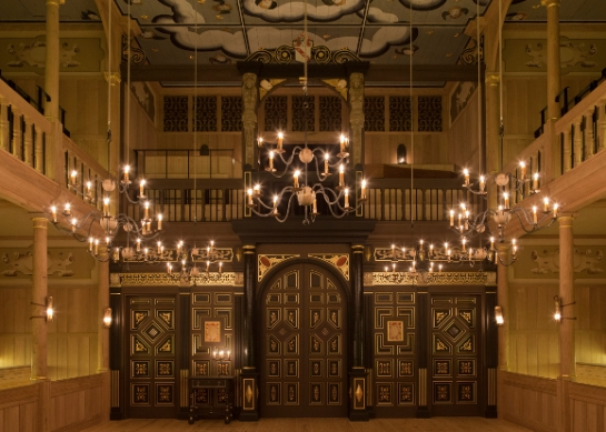 The Sam Wanamaker Playhouse, from What's On Stage