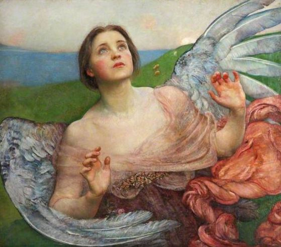 Annie Swynnerton, 'The Sense of Sight', 1895, Walker Art Gallery