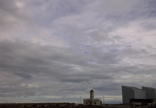 Turner Contemporary with Margate skyscape