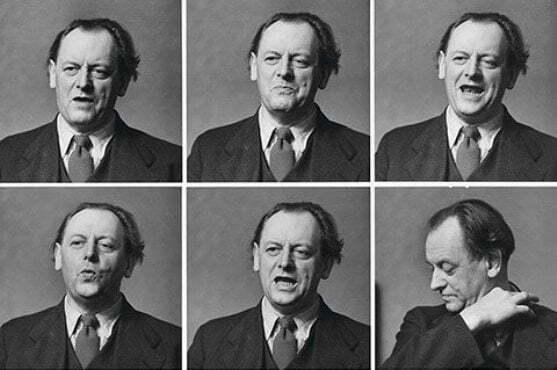 Kurt Schwitters reciting the Ursonate, 1944, via guardian.co.uk